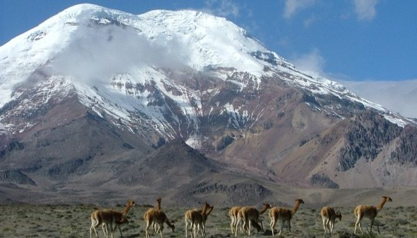 Conquering the roof of the world: Chimborazo volcano